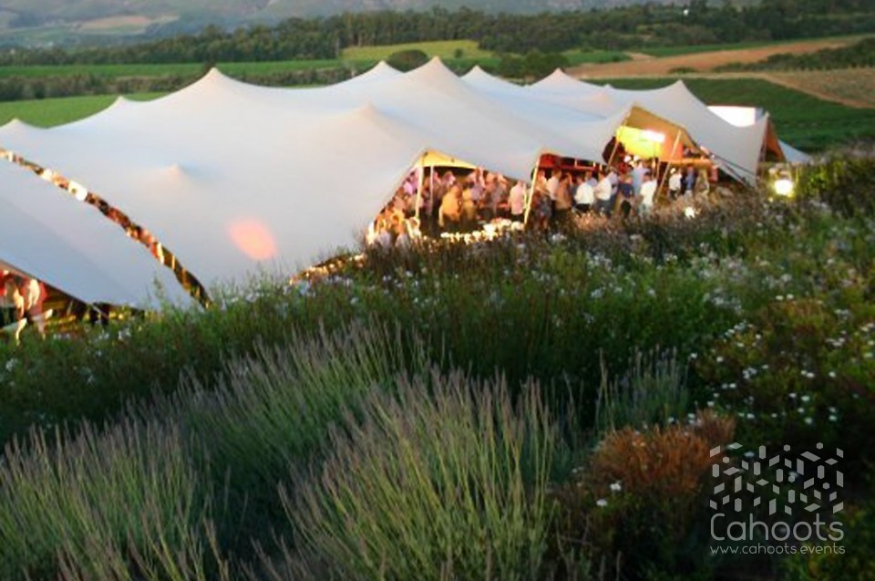 & Cahoots | Stretch Tents | Wedding Tents