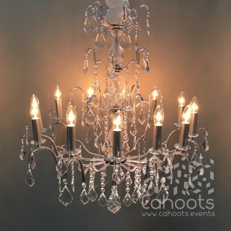 Cahoots chandelier hire french chandelier aloadofball Image collections